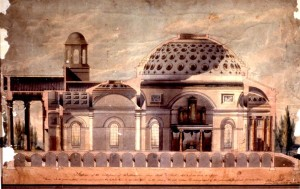 Cathedral sketch 1808